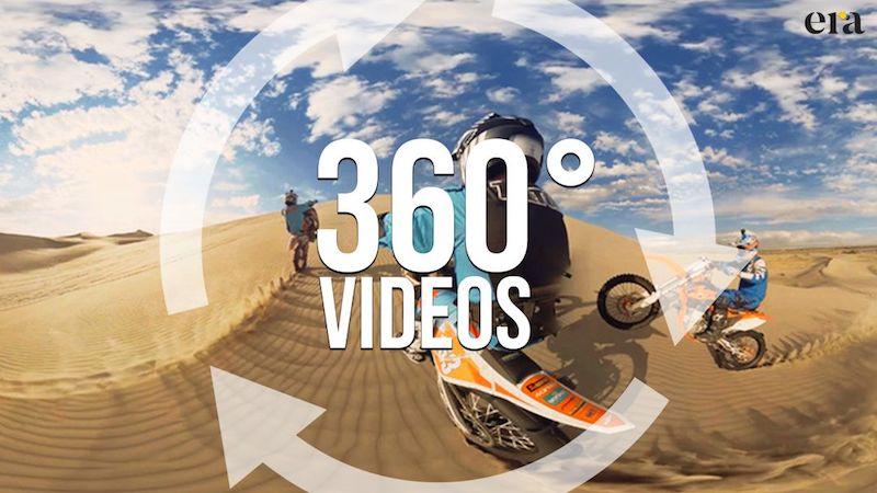 Video 360 được khai thác sẽ đem lại trải nghiệm thực tế tại chỗ cho khách hàng