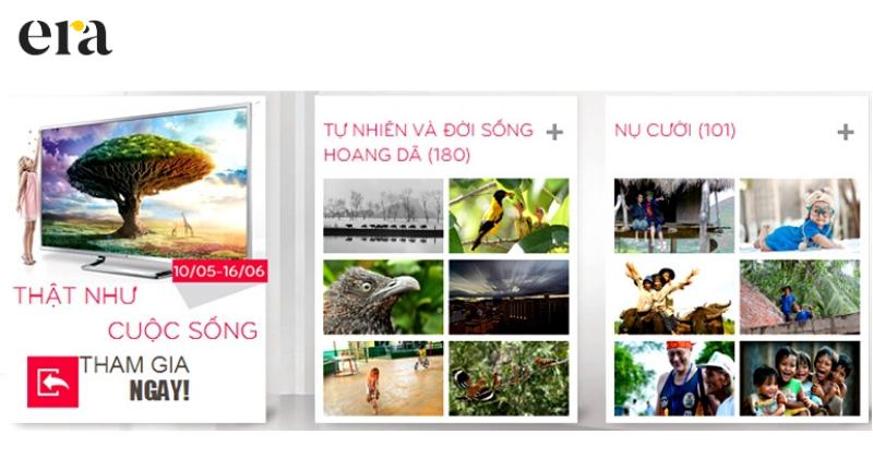 Cuộc thi ảnh chất lượng cao Ultra HD của LG