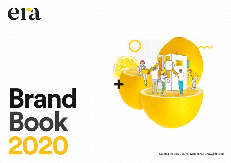 Brand Book 2020 của thương hiệu ERA Content Marketing