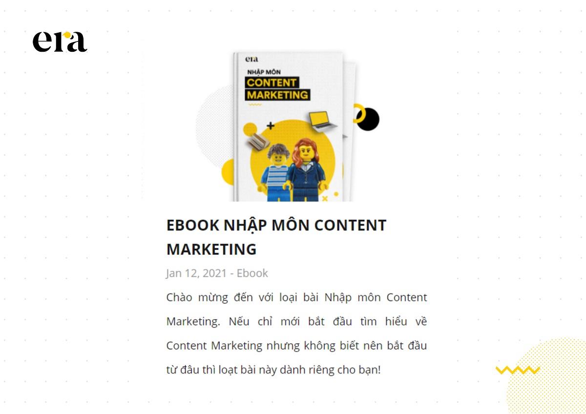 Ebook giúp thu hút lượt tương tác của người dùng trên website