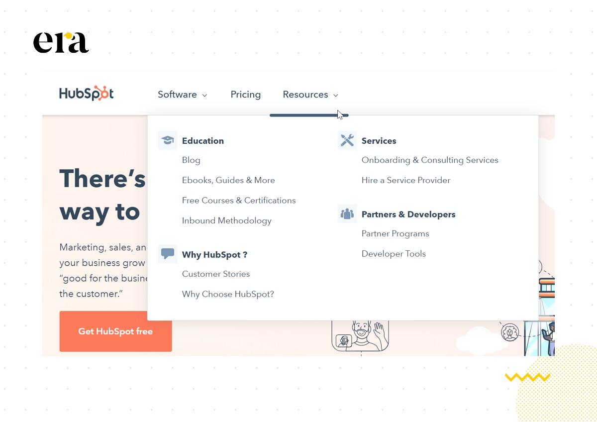 HubSpot cung cấp một nguồn tài nguyên content marketing miễn phí và hữu ích cho tất cả mọi người