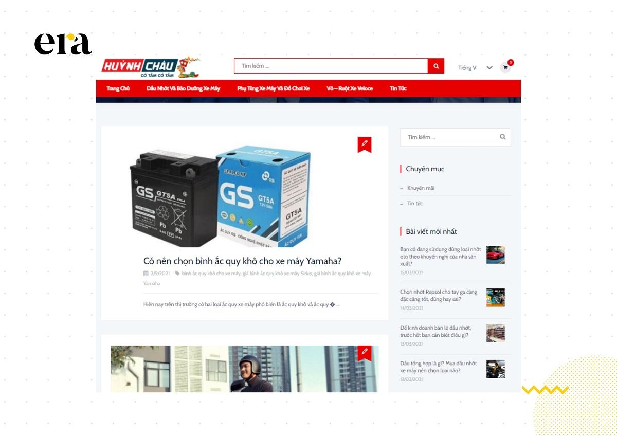 Sở hữu một chiến lược content marketing hiệu quả đã giúp Huỳnh Châu tăng doanh thu với khách hàng hiện tại